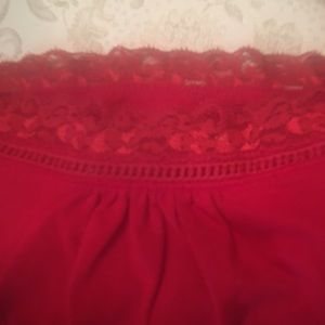 Venezia Tops - Venezia & Faded Glory Women's Red & Blk Camis